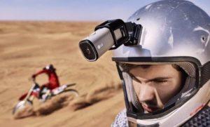 """Компания """"LG"""" представила компактную камеру """"Action Cam LTE"""", способную транслировать видео в сеть без подключения к смартфону."""