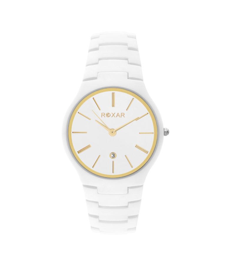 Керамические кварцевые наручные часы Roxar серия LK006