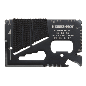 Карманный мультиинструмент Credit Card Survival Tool Swiss+Tech ST33329