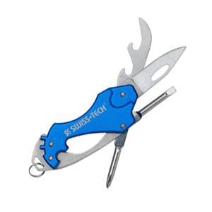 Карманный раскладной мультиинструмент Key Ring Multi-Tool 6-in-1 Swiss+Tech ST60369