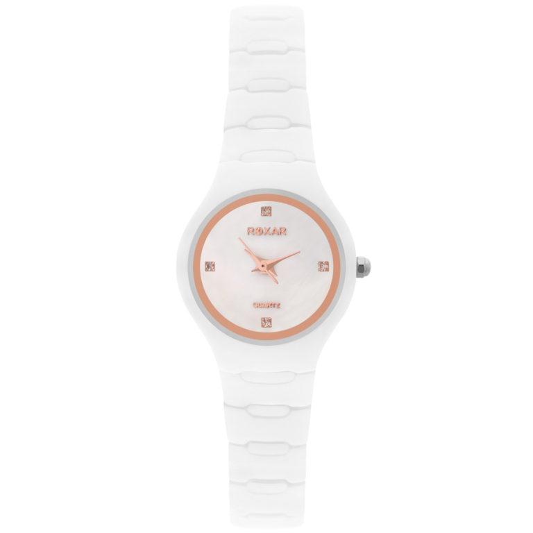 Керамические кварцевые наручные часы Roxar серия LK007