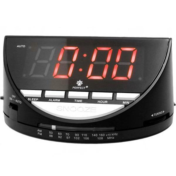 Радиоприемники будильники Perfect RD1926 формат времени 24 часа