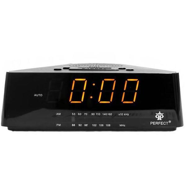 Радиоприемники будильники Perfect RD433 формат времени 24 часа