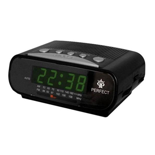 Радиоприемники будильники Perfect RD523 формат времени 24 часа
