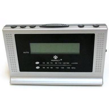 Радиоприемники будильники Perfect RD201 формат времени 24 часа