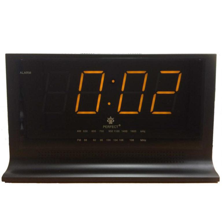 Радиоприемники будильники Perfect RD1426 формат времени 24 часа