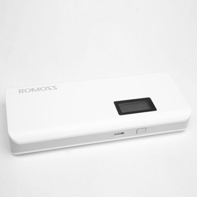 Универсальный внешний аккумулятор ROMOSS Solo 5 Plus