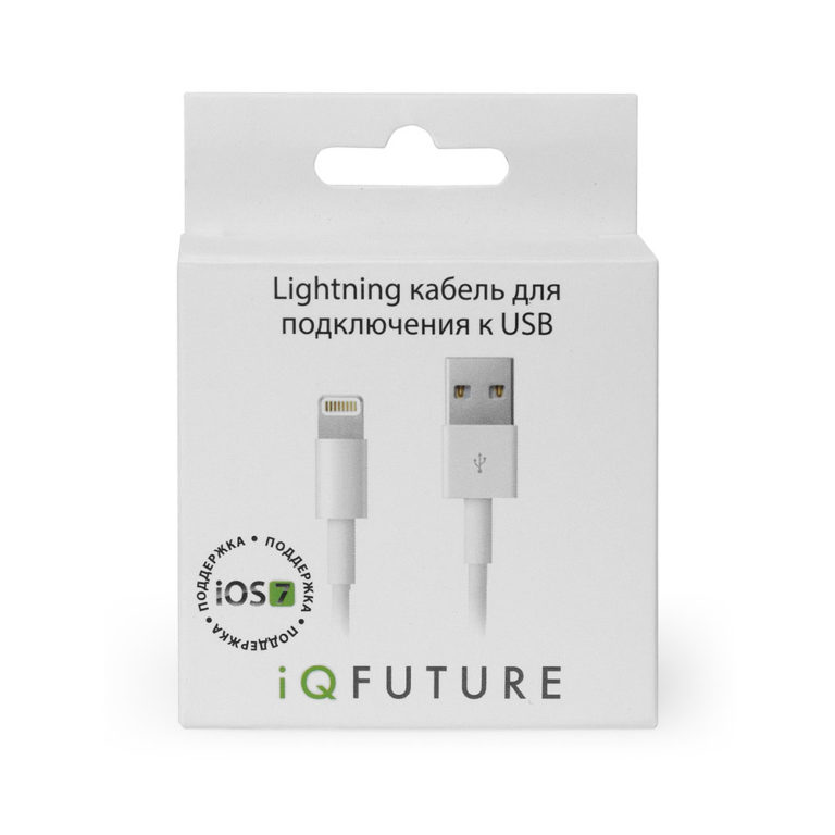 Дата-кабель IQFUTURE Lightning-USB