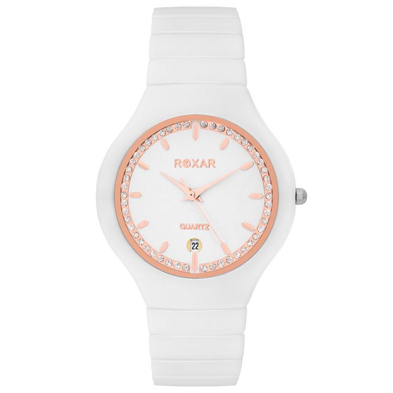 Керамические кварцевые наручные часы Roxar серия LK010