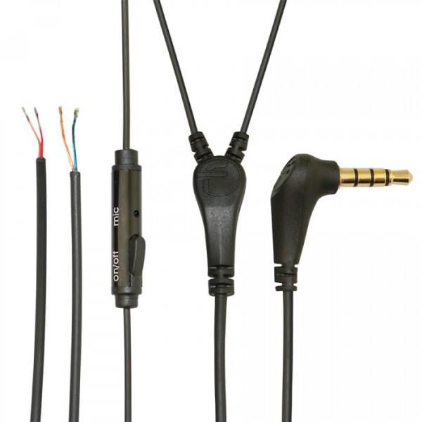 Ремонтный, сменный кабель для наушников и гарнитур