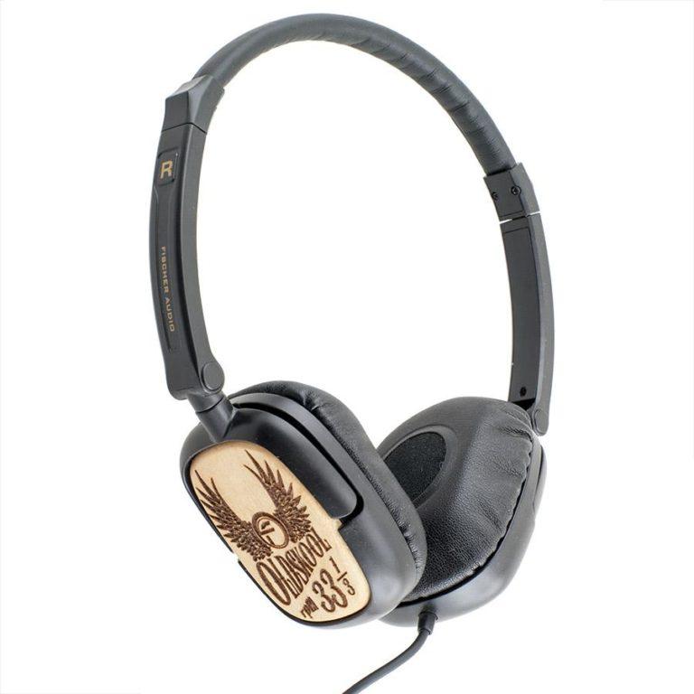 Наушники Fischer Audio Oldskool 33 1/3