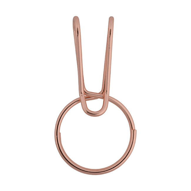 Брелок для ключей Nite Ize SqueezeRing Easy Load Key Clip